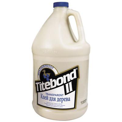 Клей Titebond II столярный влагостойкий прозрачный 3.78 л