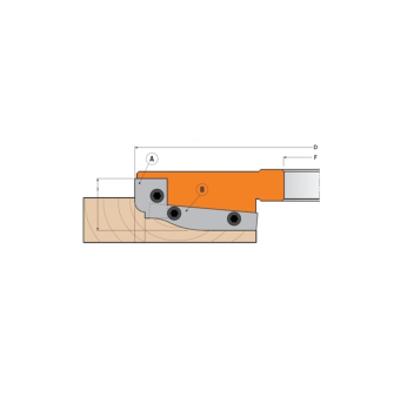 Комплект 2 ножей HM 19,8x11,9x1,5 (A1) для 694.013