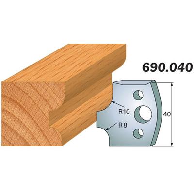 Комплект 2 ножей SP 40x4мм
