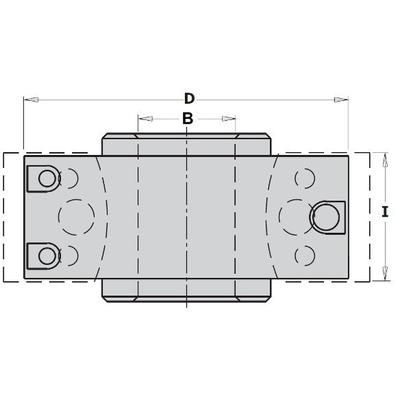 Комплект фрезы насадной F=30 D=Ножи сменные СМТ 100(алюм.) и 13 ножей HSS (кейс)