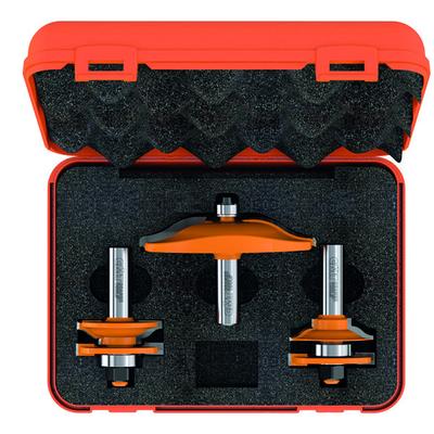Комплект из 3 фрез для изготовления кухонной мебели S=12 мм