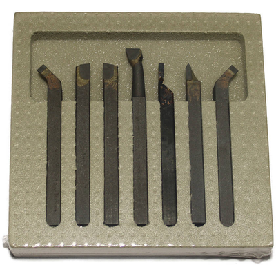 Комплект резцов STG сеченем 8х8 мм 7 шт, ВК8