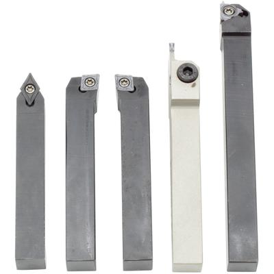 Комплект из 5 резцов со сменными пластинами, 10х10 мм