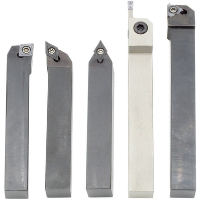 Комплект из 5 резцов со сменными пластинами, 12х12 мм