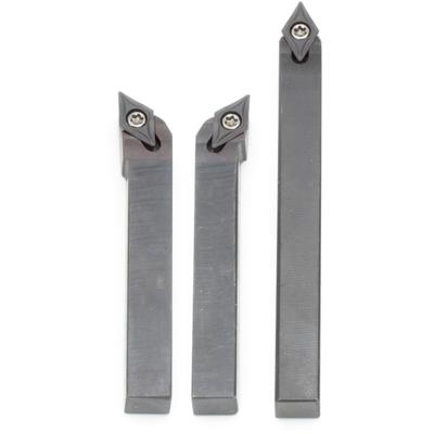 Комплект из 3 резцов со сменными пластинами, 8х8 мм