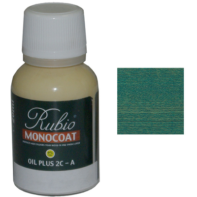 Масло Peacock Green Rubio Monocoat Oil plus 2C comp A 20 мл