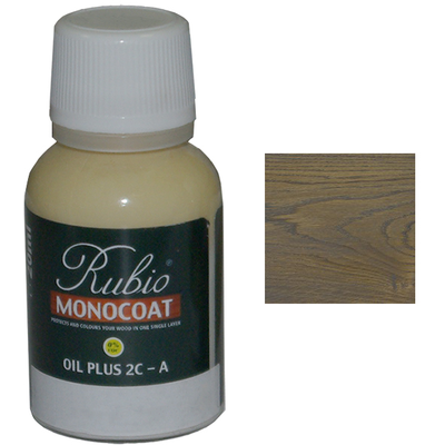 Масло ASH Grey Rubio Monocoat Oil plus 2C comp A 20 мл