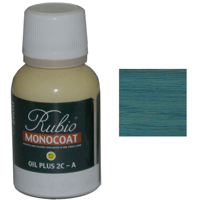 Масло Velvet Green Rubio Monocoat Oil plus 2C comp A 20 мл