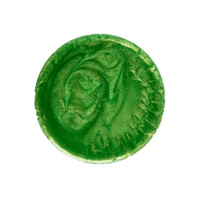 Металлизированный пигмент зеленый для эпоксидной смолы 10 г