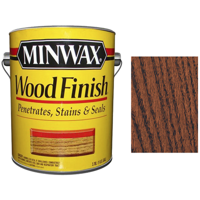 Морилка Minwax WF 225 цвет Красный махагон 3,785 л