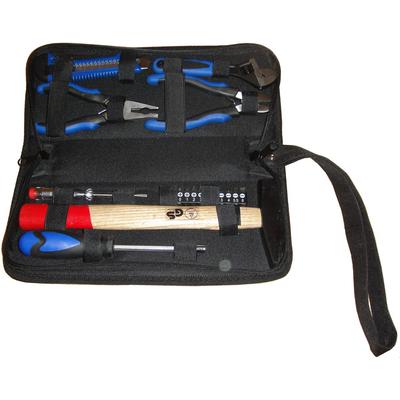 Набор инструментов 17 предметов в сумке на молнии.