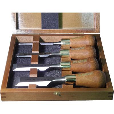 Набор из 4-х зачистных стамесок WOOD LINE PLUS 6, 12, 20, 26 мм