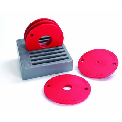 Набор из 5-ти колец для пластин (PRS3034, PRS3036, PRS3038) для крепления фрезера