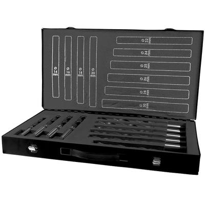 Набор сверл DIN 345 тип Конус Морзе HSS из 10 шт 14.0 - 30.0 мм х 0.2