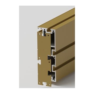 Комплект накладок для профиль-шины 140 мм (2 шт)