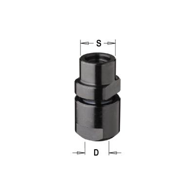 Патрон (без цанги) M12x1 для цанг 6-6,35-8-9,5мм