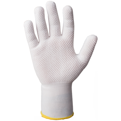 Перчатки для точных работ с точечным покрытием размер M