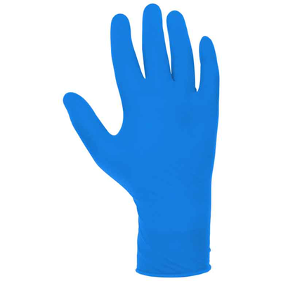 Перчатка нитриловая синяя размер L