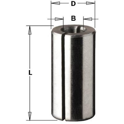 Переходная втулка 8 - 6 мм