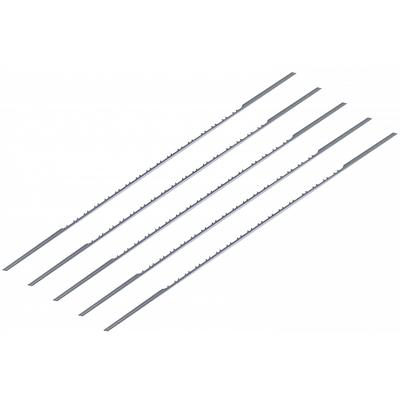 Пилки лобзиковые по дереву 1,1х0,36х130 мм, 11 TPI, 5 шт. без штифтов