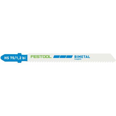 Пильное полотно для лобзика METAL STEEL/STAINLESS STEEL HS 75/1,2 BI/5