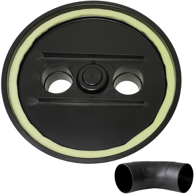 Пластиковая крышка Cyclone Ø530 мм