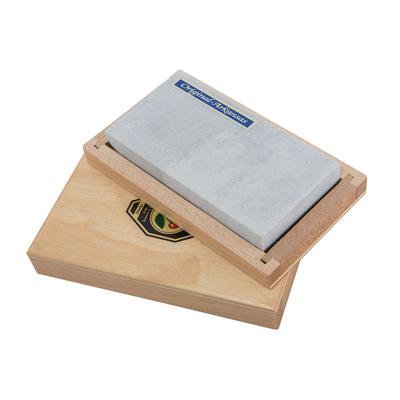 Природный точильный камень ARKANSAS  в деревянной коробке