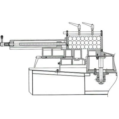 Прижим для пакетной резки для BS-712R