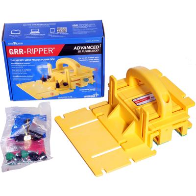 Прижимной толкатель GRR-RIPPER 3D заготовки для пиления / фрезерования