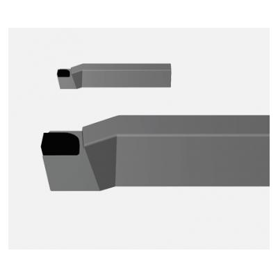 Резец токарный проходной упорный изогнутый Т5К10 25х16х140