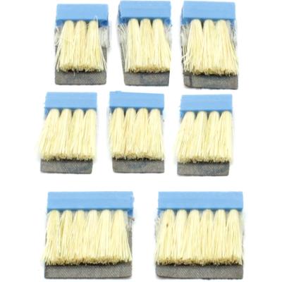 Щетка шлифовальная DE-TERO Flex MB2 28(2шт)+18(6шт) 40/45х1.1 мм 141 P180 нейлон