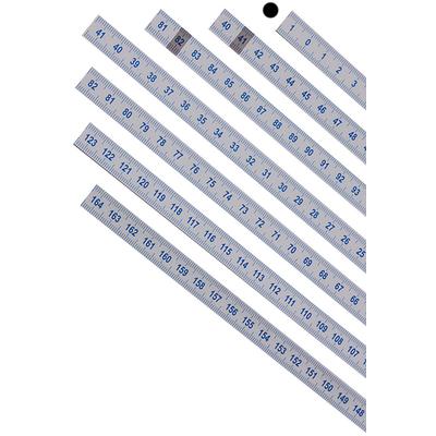 Шкала 0-41 см из лексана (0-41 слева направо)