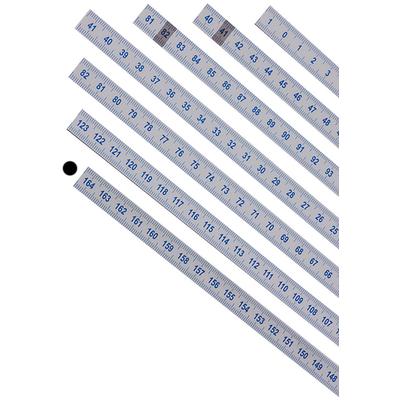 Шкала 164-122 см из лексана (122-164 справа налево)