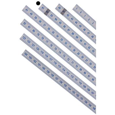 Шкала 81-123 см из лексана (81-123 слева направо)