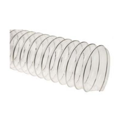 Шланг полиуретановый прозрачный, длина 10 м, диаметр 100 мм, стенка 0,5 мм.