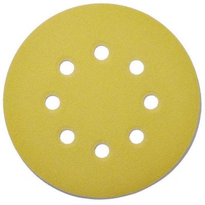 Шлифовальный диск d125 мм, P100, 8 отв. (CA331-V)
