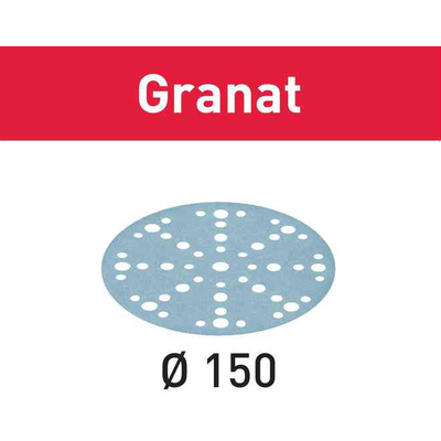 Шлифовальный круг STF D150/48 P100 Granat, 1 шт.