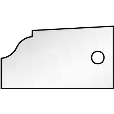 Сменная пластина профиль 2, для фрезы 7420371