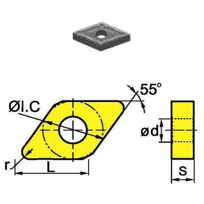 Сменная твердосплавная пластина DNMG150408-GM/SD4125