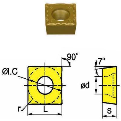 Сменная твердосплавная пластина SCMT09T308-HM/SD4125