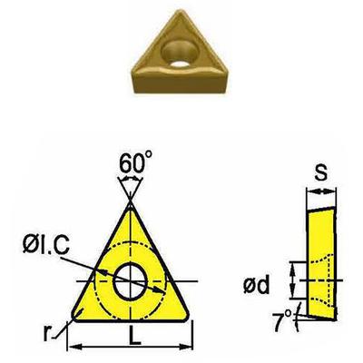 Сменная твердосплавная пластина TCMT090208-HM/SD4125
