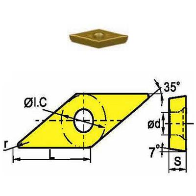 Сменная твердосплавная пластина VCMT110302-STF/ST2115