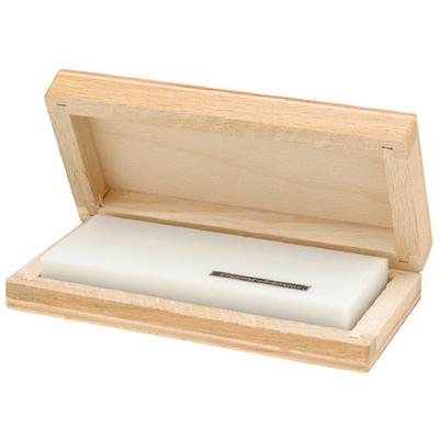 Точильный камень ARKANSAS в деревянной коробке 100х40х12мм