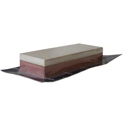 Точильный камень двухслойный Мелкозернистый + крупнозернистый 50х130х25