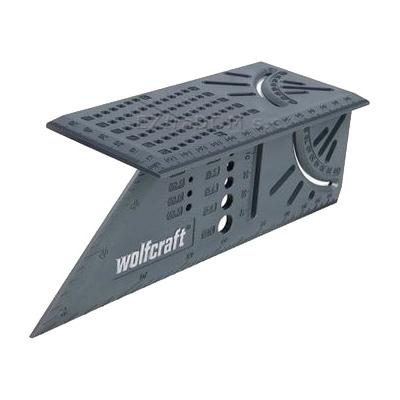 Угольник разметочный 3D, многофункциональный
