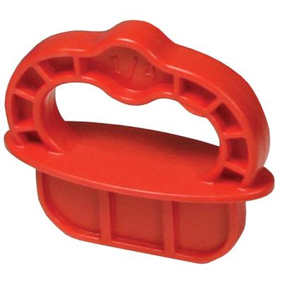 Вставки для установки зазора для приспособления Deck Jig красный пластик