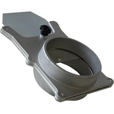 Задвижка из алюминия, диаметр 64 мм
