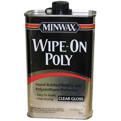 Защитное покрытие Wipe-On Poly 473 мл, глянцевое