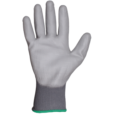 Защитные перчатки с полиуретановым покрытием размер M